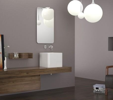 2 حمام بخزانات خشبية
