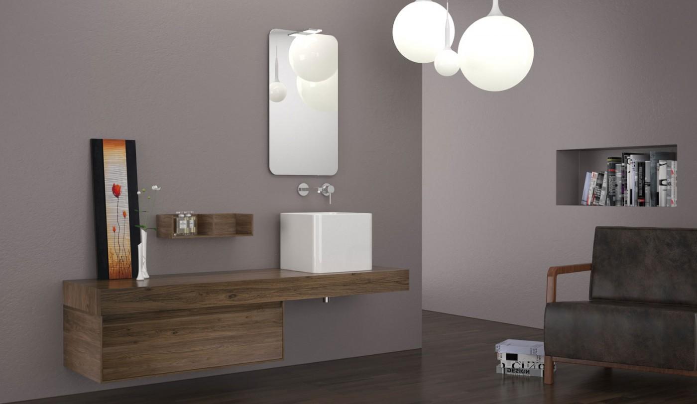 2 حمام بخزانات خشبية 2 حمام بخزانات خشبية