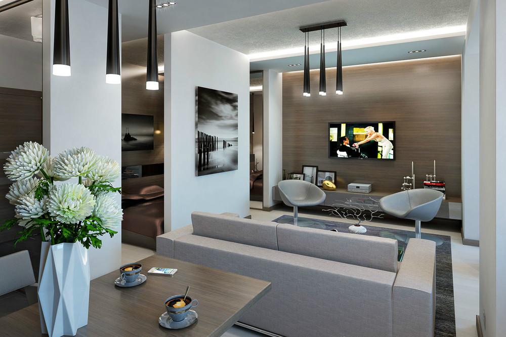 2 Modern open plan decor تصميمات مبتكرة لشقق و اكسسوارات لا تناسب الا الشباب