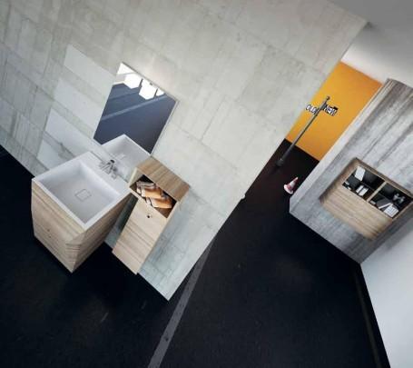 جمال الخشب الطبيعي في 10 حمامات مودرن أنيقة