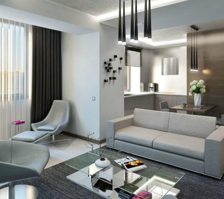 Masculine-apartment