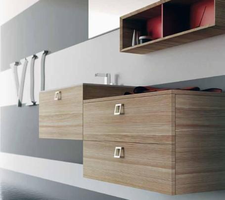 4ا حمام بخزانات خشبية