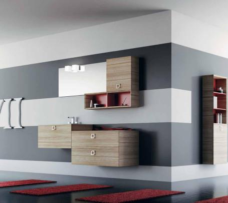 4 حمام بخزانات خشبية