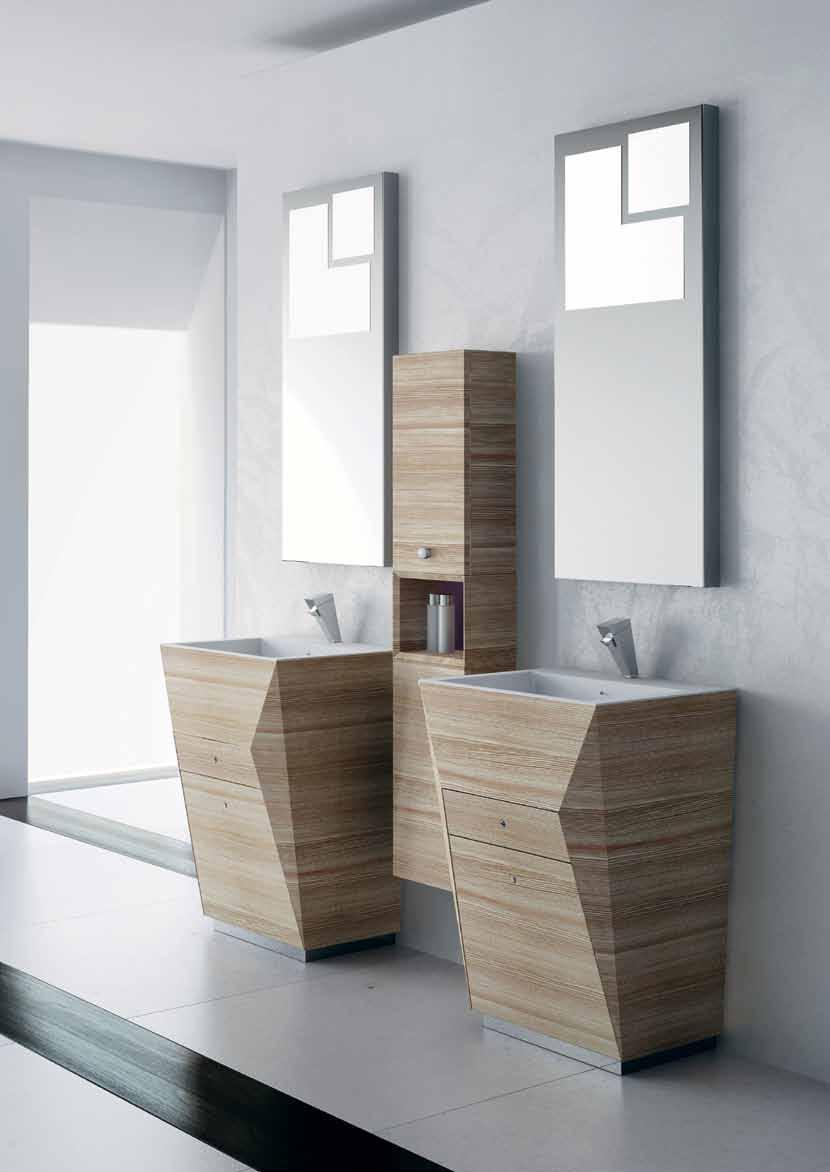 5 حمام بخزانات خشبية 5 حمام بخزانات خشبية