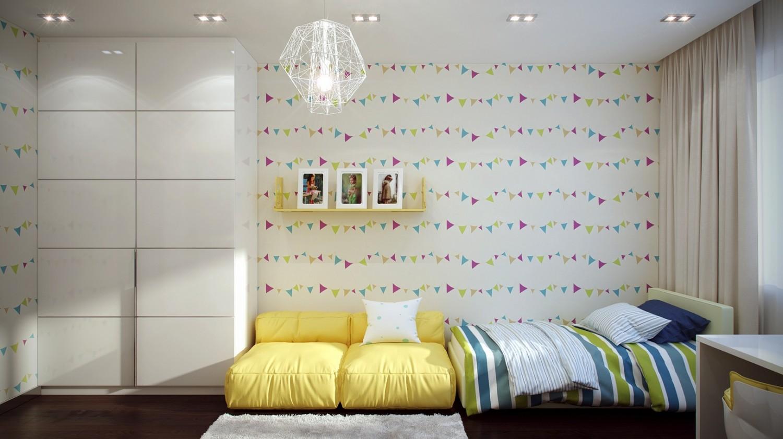 %name 6 Funky kids room design