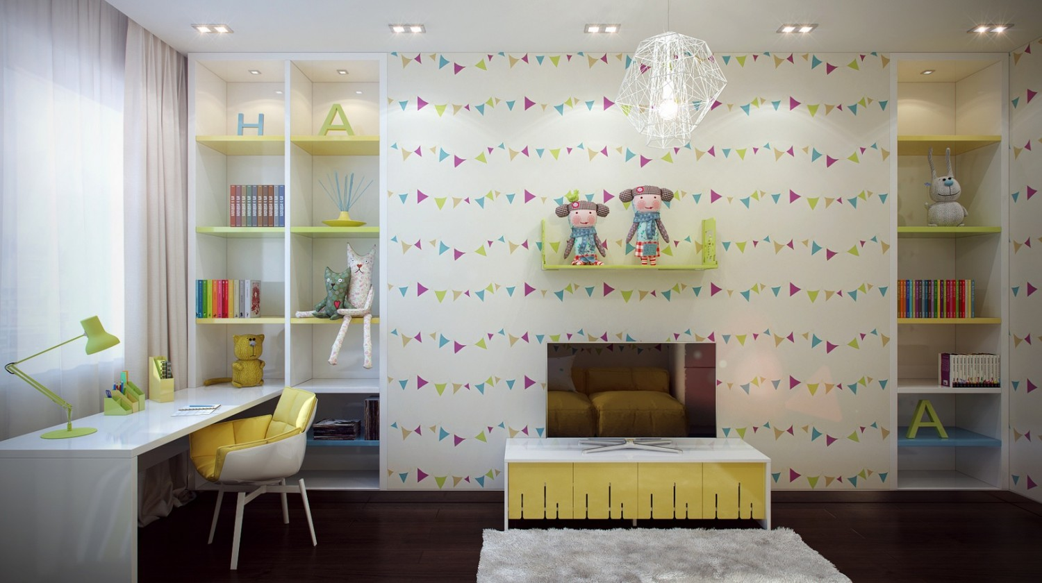 %name 7 Fun kids room design