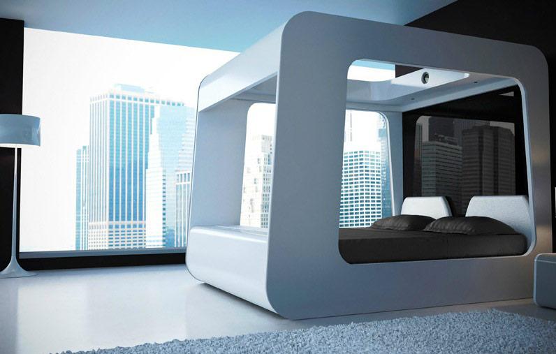 8 تصميم حديث لسرير بأعمدة تصميمات حديثة ومتميزة للسرير ذي الأعمدة
