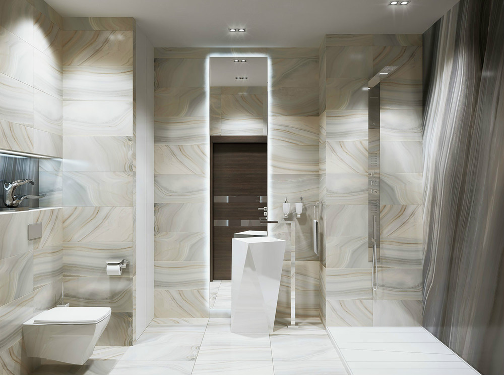 8 Marble effect tiles Marble effect tiles