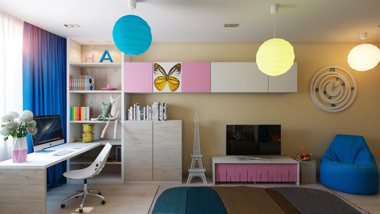 %name 9 Pink blue girls room