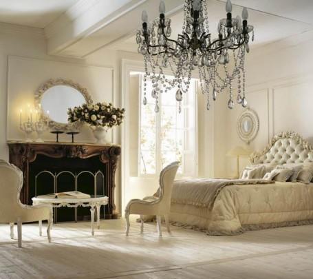 صور غرف نوم كلاسيكية أقرب إلي الملكية