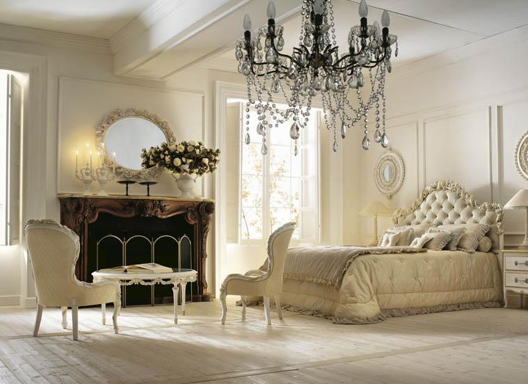 Fabulous royal classical bedroom wide view صور غرف نوم كلاسيكية أقرب إلي الملكية