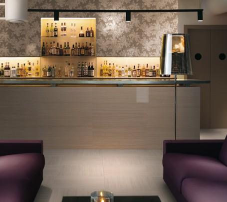 Purple-white-lounge-bar-patterned-wall-tile