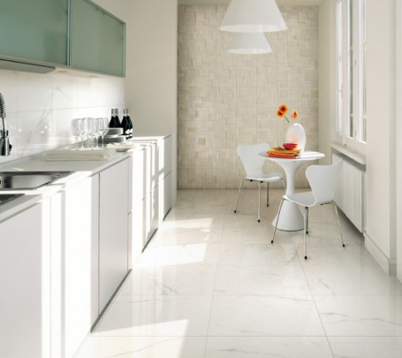White-kitchen-ceramic-tile-textured-wall