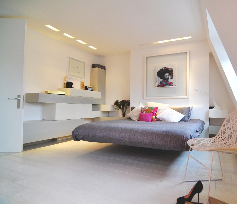 amazing floated bed 1500x1292 تصميم منزل مودرن بعيد كل البعد عن الكلاسيكية