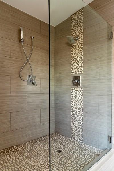 beach style bathroom 400x600 افكار ديكورات حمامات مودرن