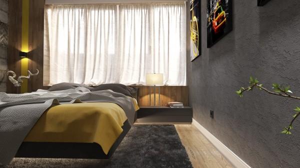 bedroom decor ideas 600x337 ٦ غرف نوم بتصميم عصري مودرن