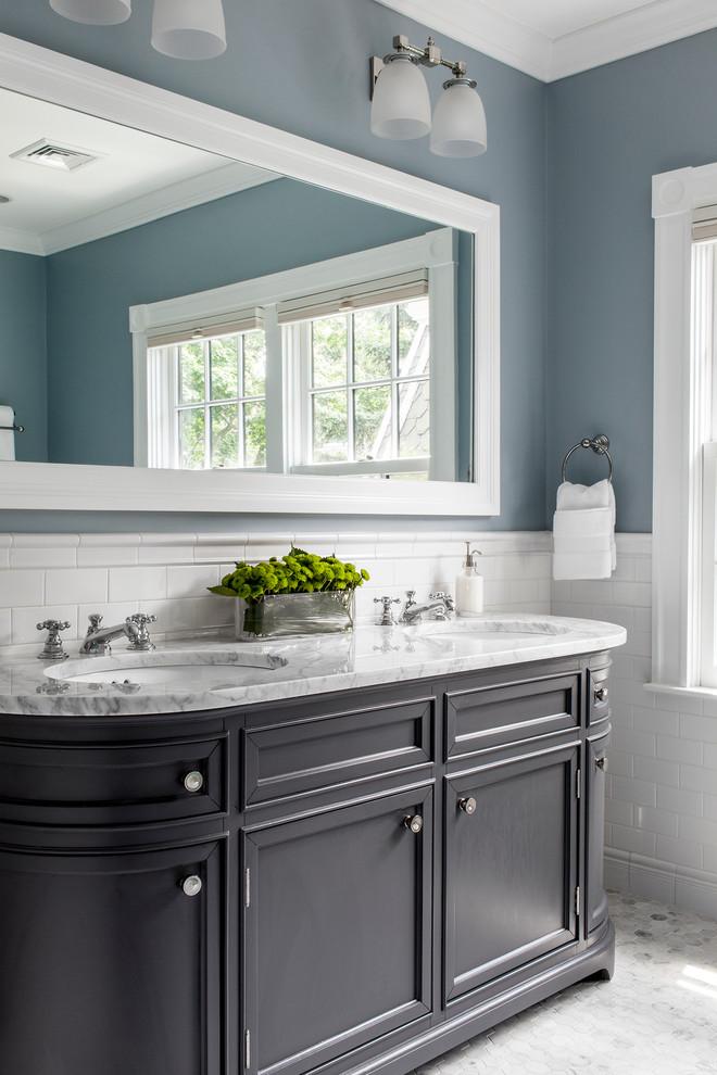 classical bathroom decoration تصميمات حمامات كلاسيك بلمسة عصرية