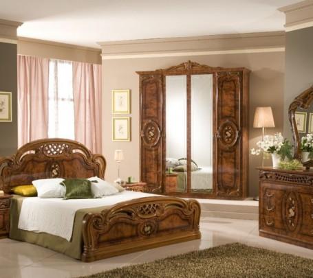 classical-bedroom-brown-wood