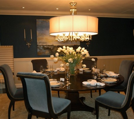 classical-dining-room-ideas-round-table