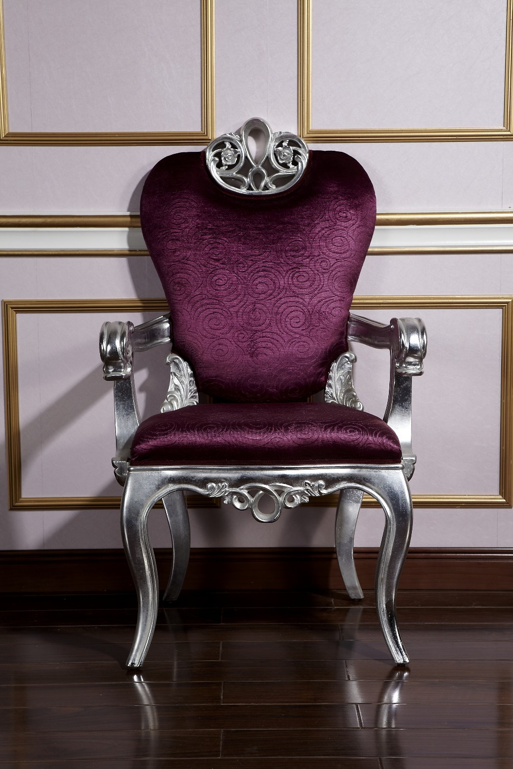 classical dining room purble chair classical dining room purble chair
