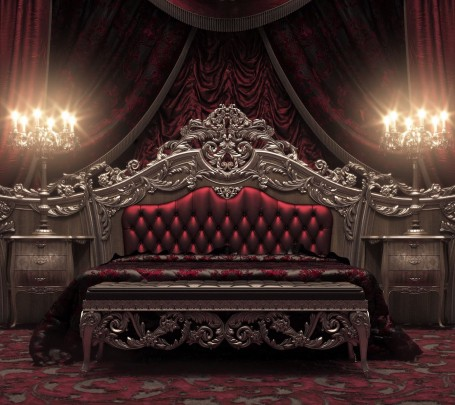 classical-royal-bedroom-red