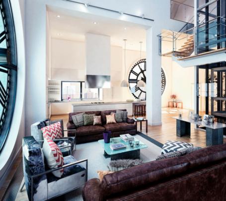 clock-inspired-apartment-600x450