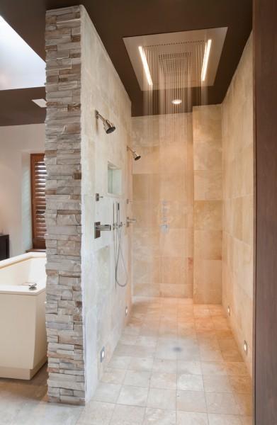 contemporary bathroom 391x600 افكار ديكورات حمامات مودرن