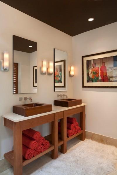 contemporary bathroom3 400x600 افكار ديكورات حمامات مودرن