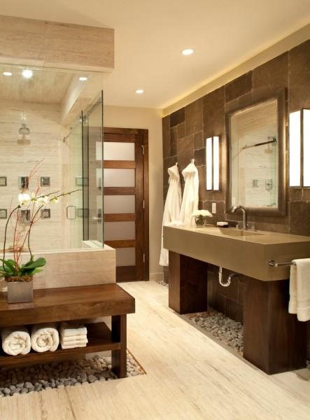 contemporary bathroom5 443x600 افكار ديكورات حمامات مودرن