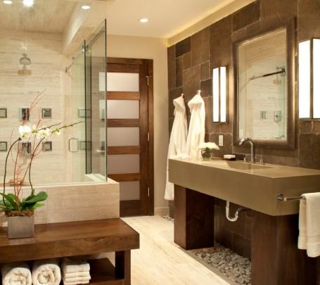 افكار ديكورات حمامات مودرن