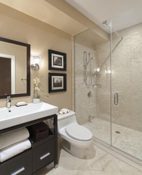 contemporary bathroom6 487x600 افكار ديكورات حمامات مودرن