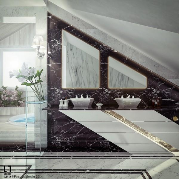 creative bathroom mirrors 600x600 creative bathroom mirrors 600x600