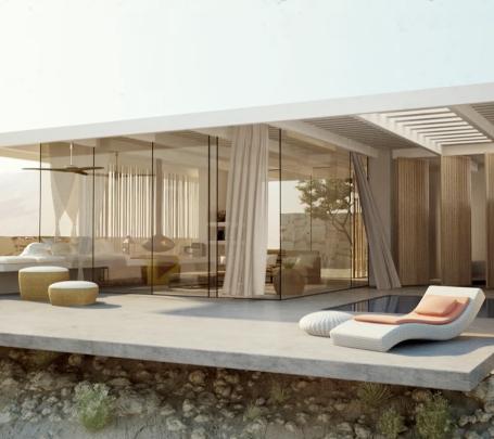 فيديو: منزل في قلب الصحراء يبهر كل من يراه