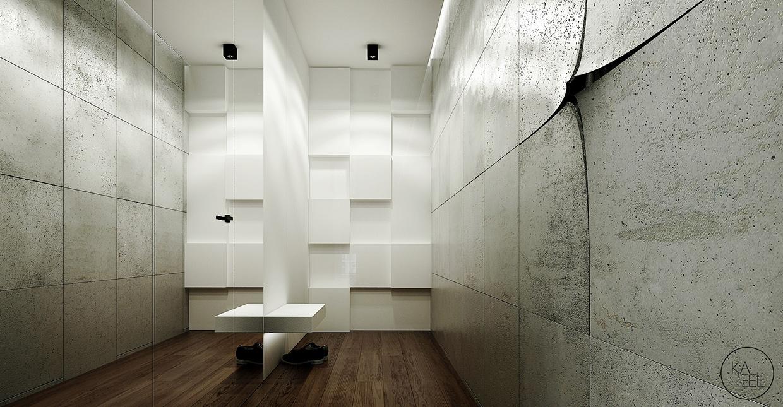 entryway mirror منزل مودرن يمثل الإبداع في كل أركانة
