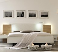 floating bed feature