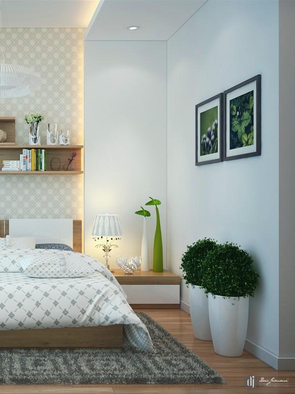 lovely potted plants 600x800 تصاميم غرف نوم لأصحاب الذوق الرفيع
