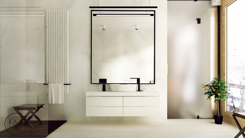 minimalist design منزل مودرن يمثل الإبداع في كل أركانة