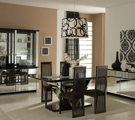 modern-dining-room-ideas-black-white
