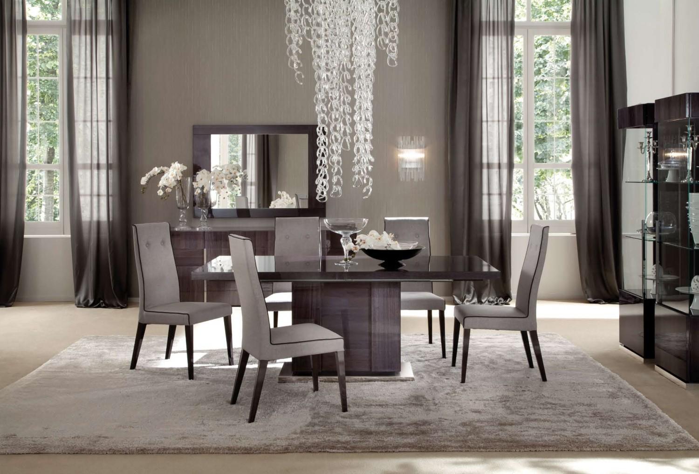 modern dining room ideas glass windows 1500x1016 جددي حيوية منزلك مع أفكار غرف سفرة مودرن