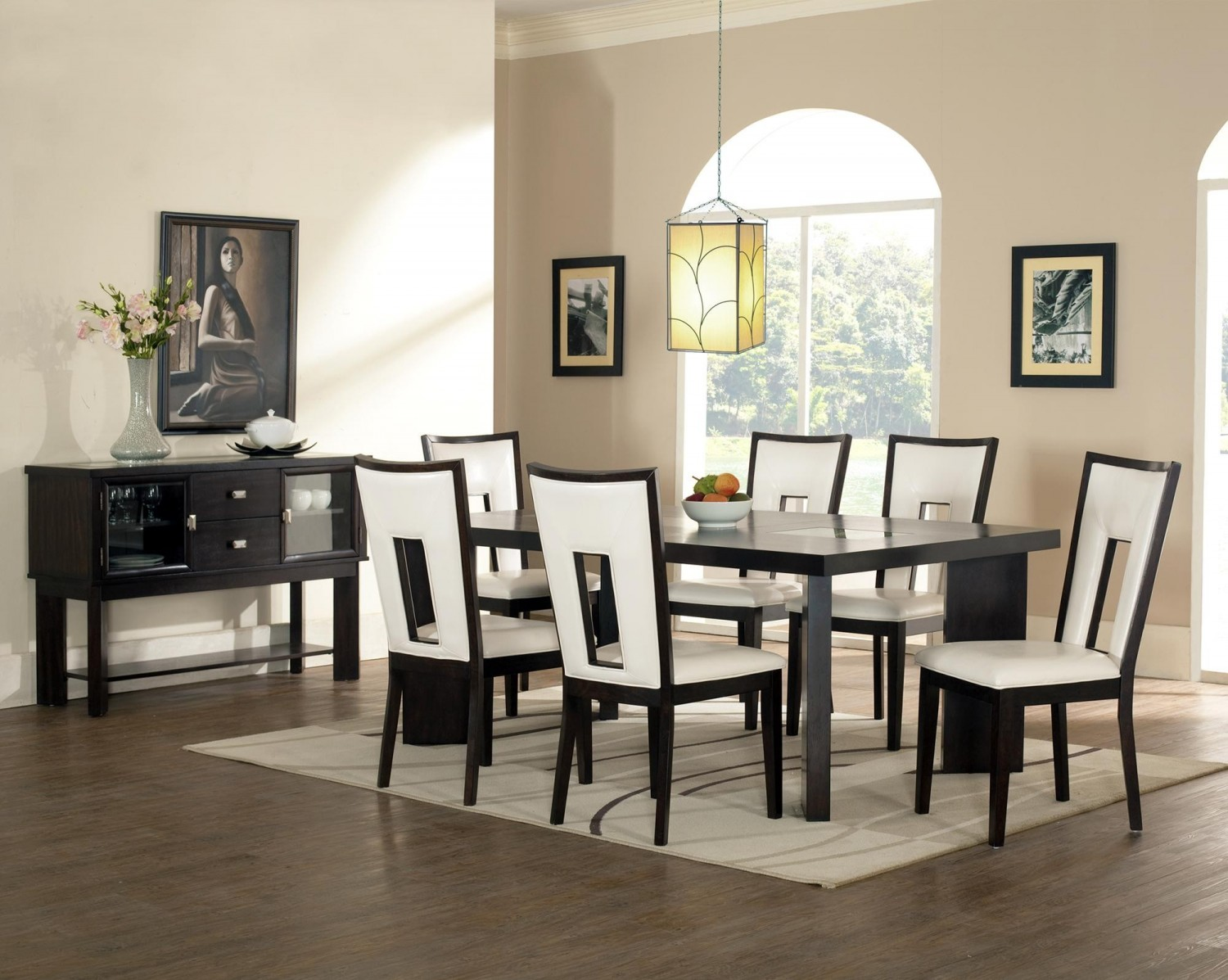 modern dining room ideas white squares 1500x1197 modern dining room ideas white squares