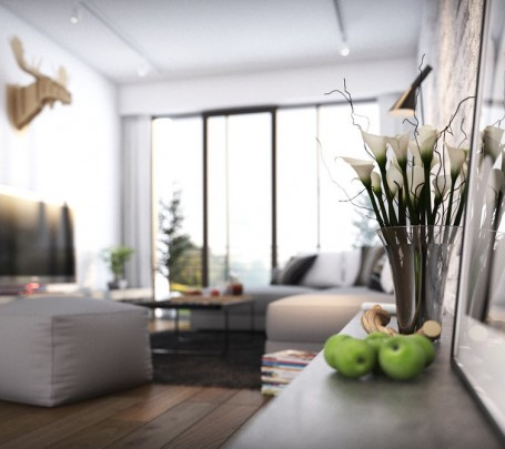 modern-living-room-with-flowers