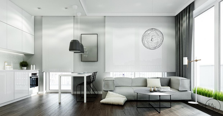 modern space conserving decor منزل مودرن يمثل الإبداع في كل أركانة