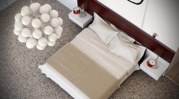 neutral bedroom design 600x332 ٦ غرف نوم بتصميم عصري مودرن