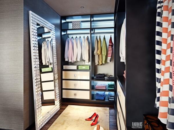 organized closet 600x450 ٦ غرف نوم بتصميم عصري مودرن