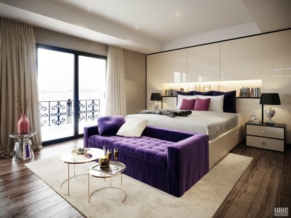 تصاميم غرف نوم لأصحاب الذوق الرفيع