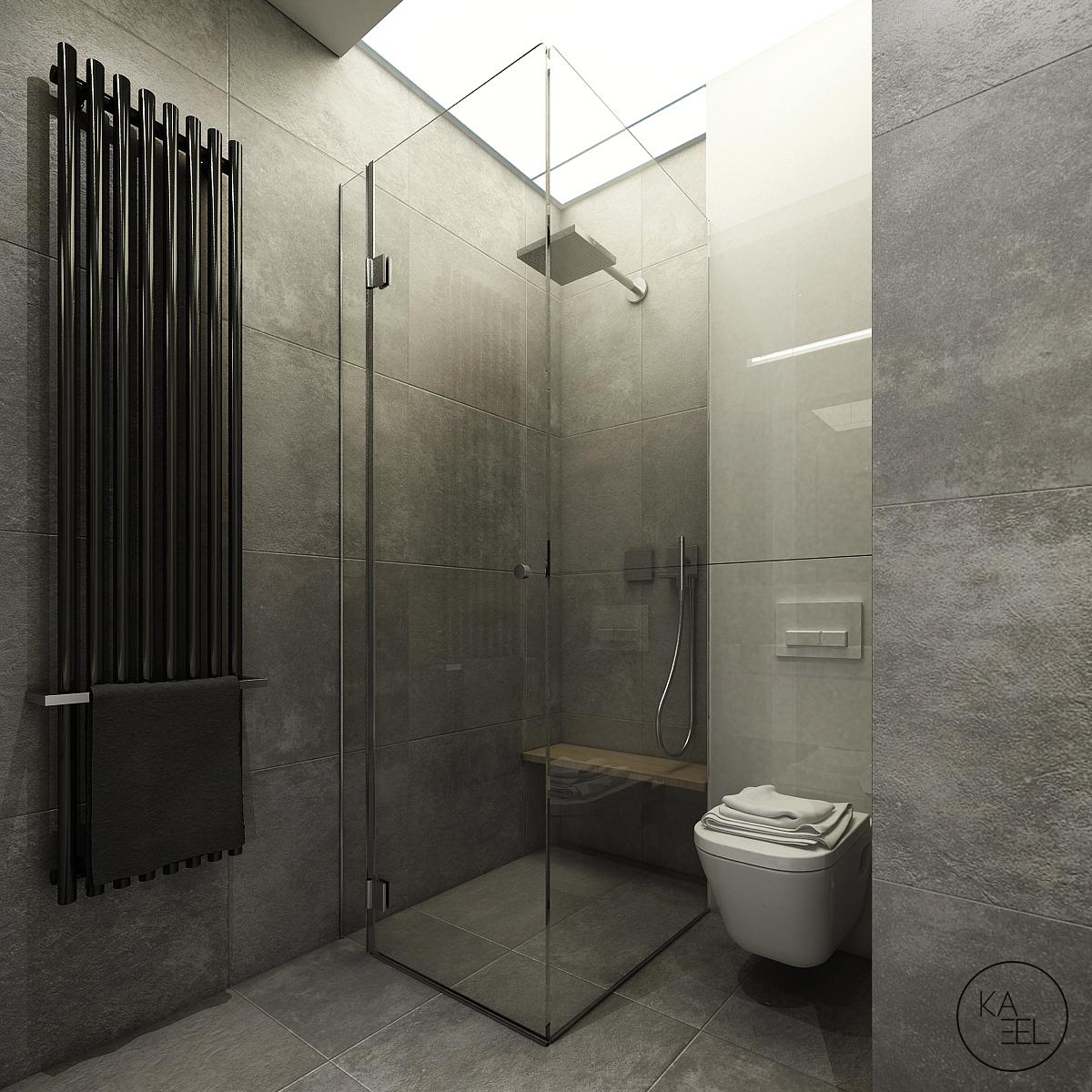rain showerhead منزل مودرن يمثل الإبداع في كل أركانة