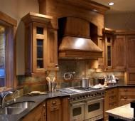 rustic-kitchen-decor-sink-brown