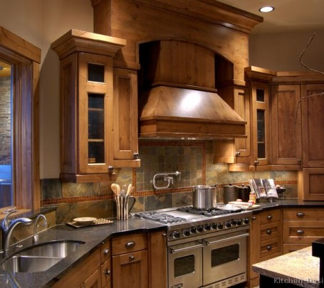 rustic-kitchen-decor-sink-brown