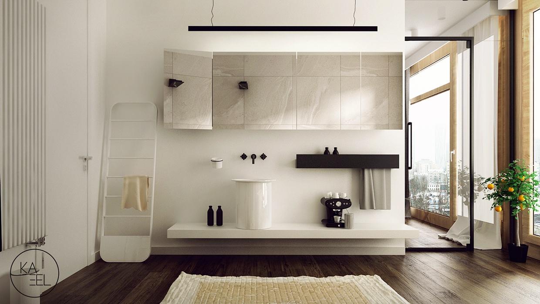 simple bathroom design منزل مودرن يمثل الإبداع في كل أركانة