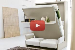 بالفيديو: تصاميم ذكية لمنازل ذات مساحة صغيرة